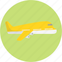 airplane, airport, flight, journey, travel, trip icon