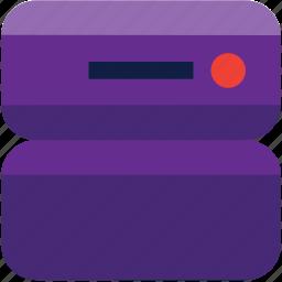 computing, database, hosting, server icon