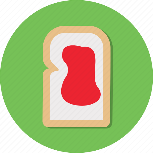 bread, dessert, food, meal, snack icon