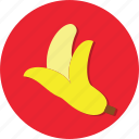 banana, food, fruit, health, healthy icon