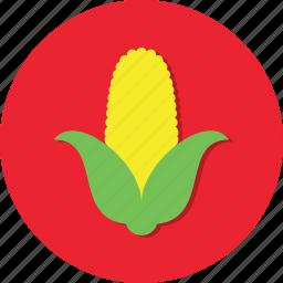corn, eat, food, health, vegetable icon