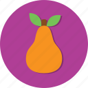 food, health, healthy, leaf, pear icon