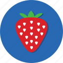 berry, food, fruit, health, strawberry, vitamin icon