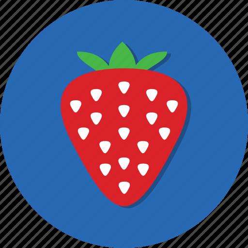 berry, food, fruit, health, strawberry, vitamin icon