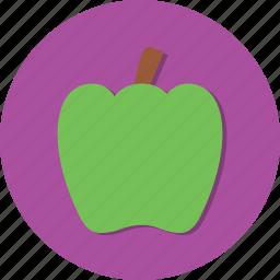 food, fruit, healthy, paprika, vegetable icon