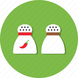 chili, cooking, food, kitchen, salt, spices icon