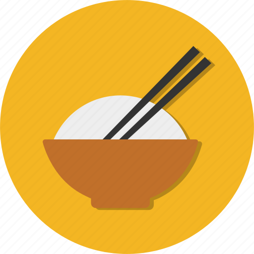 bowl, cooking, food, restaurant, rice icon