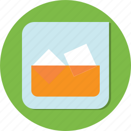 cold, cup, drink, glass, ice, thirsty, water icon
