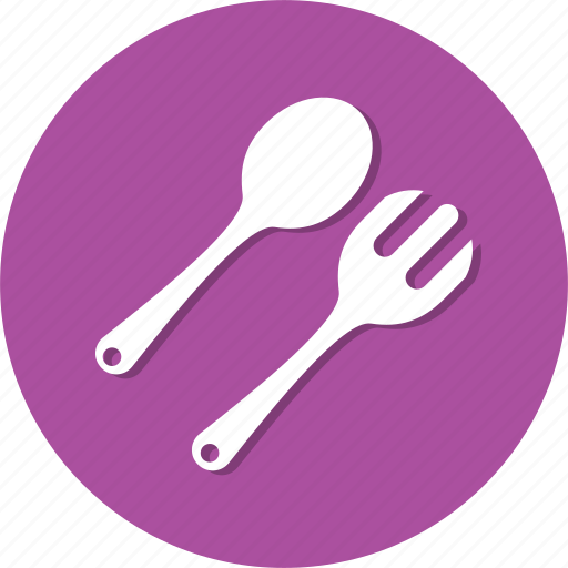 eat, fork, spoon icon