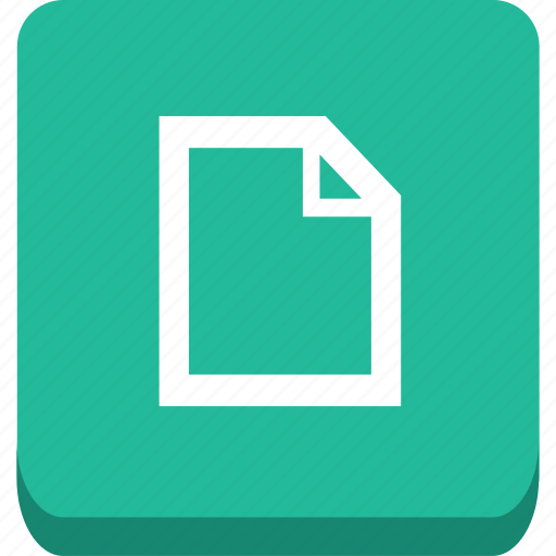 document, new, page, tab icon
