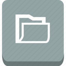 create, empty, folder, put icon