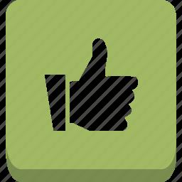 hand, like, thumb icon