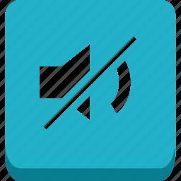 mute, no voice icon