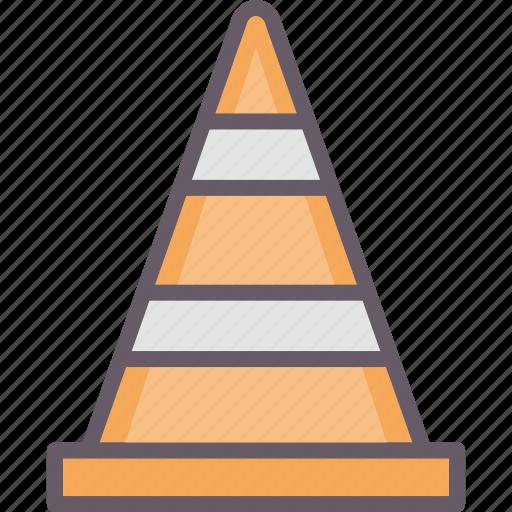 pawn, roadblock, tools, working icon