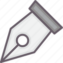 development, pen, scribe, tools icon