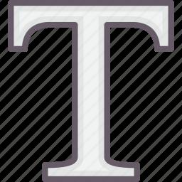 development, letters, tools, type icon