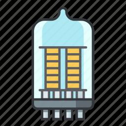 cathode, electron tube, electronicparts, phototube, tube, vacuum tube, valve icon