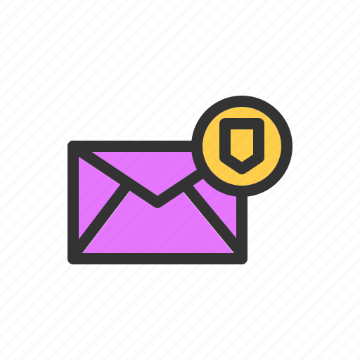 data, email, mail, protection, secure, security, server icon