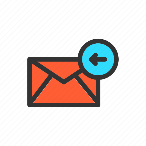 email, incoming, mail, receive, receiving icon
