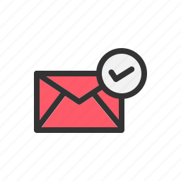 correct, email, mail, okay, send, sending, successfully icon