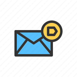 crucial, email, important, mail, message, priority icon