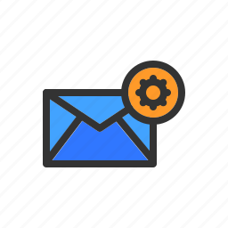 adjustment, configure, email, mail, options, settings icon