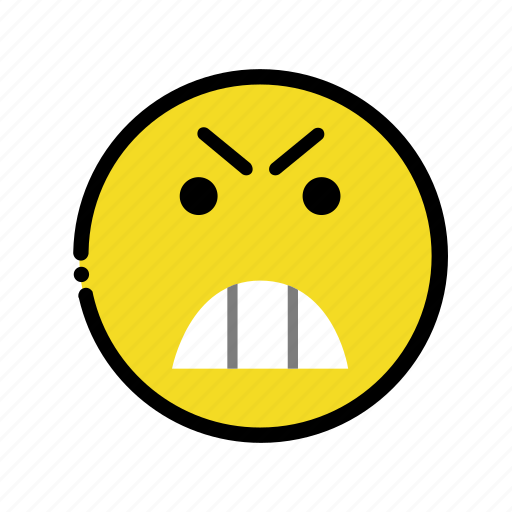 anger, angry, misconduct icon
