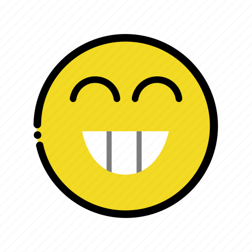 happy, smile icon