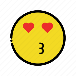 kiss, kissing, love, valentine icon
