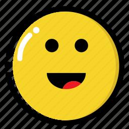 big, happy, simley, smile icon