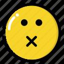 dead, mute, silence icon