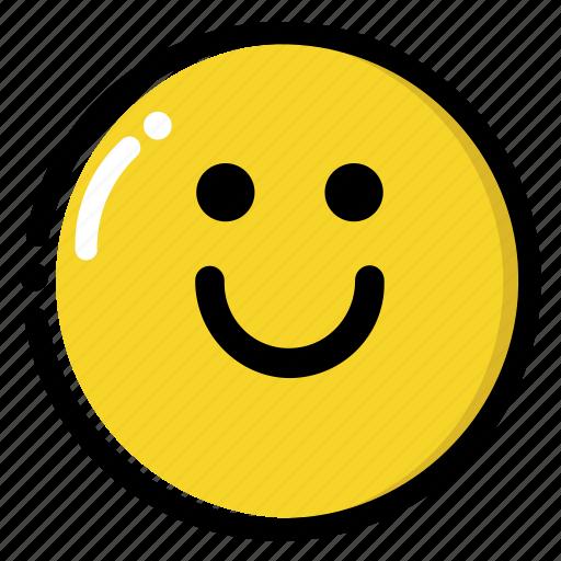 big, happy, smile, smiley icon