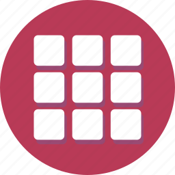apps, collection, gallery, grid, group, menu, thumbnail icon