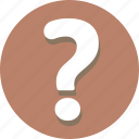 about, ask, faq, help, query, question, support icon