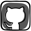 community, developer, github, media, open source, social, software icon