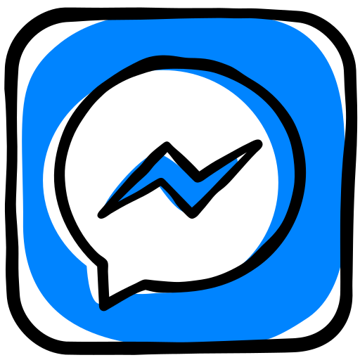communication, facebook, media, message, messenger, social, texting icon