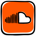 audio, audio distribution, media, music, music streamming, social, soundcloud icon