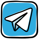 cloud, message, messenger, network, plane, social media, telegram icon