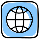 earth, media, social, web, website, world, world wide web icon