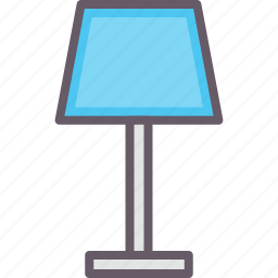 accessories, home, homelamp icon