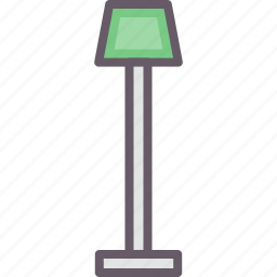 accessories, home, lamp, light icon