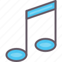 music, note, sing, song icon