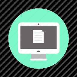 mac, monitor, pc, screen icon