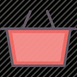bag, basket, shop, shopping icon