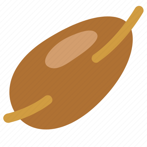 Kernel, food, nut, foodstuff, beech, agriculture, seed icon