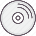 cd, disc, disk, storage icon