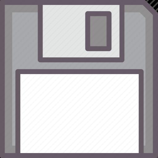 disk, diskette, floppy, storage icon