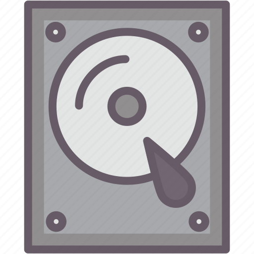 computerpart, hard drive, hdd, storage icon