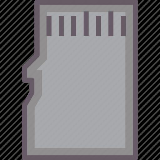 card, flash, micro, sd, storage icon