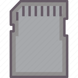 cart, flash, sd, storage icon